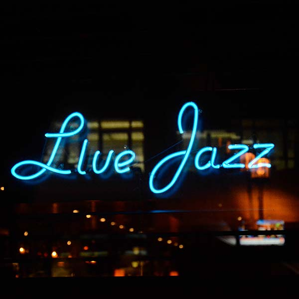 live jazz every evening
